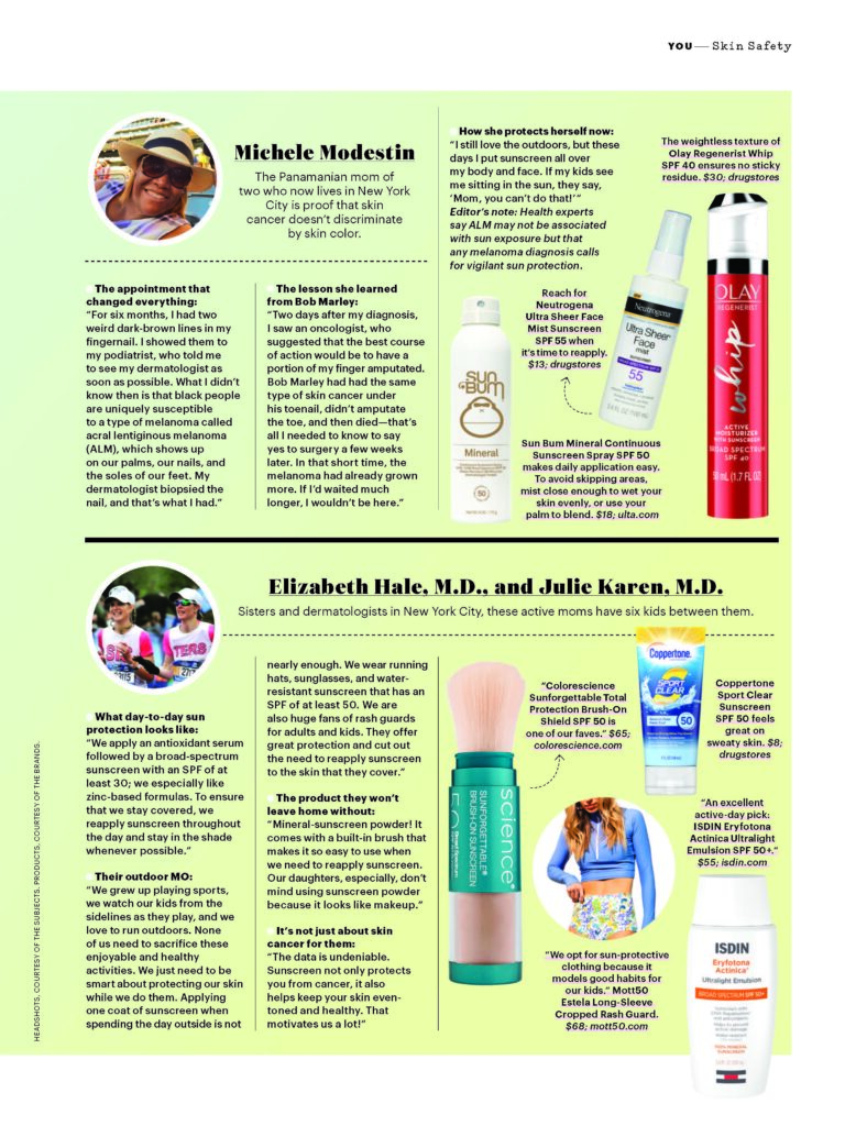 """<img src=""""https://kimnicholsmd.com/wp-content/uploads/2020/05/img-logo_mott50.png"""" style=""""width:200px"""">  Protecting your skin from the sun is important year-round, but with May being Skin Cancer Awareness Month, we want to take this opportunity to tell you why. We've brought in our friend and board-certified dermatologist, Dr. Kim Nichols, to answer some important questions."""